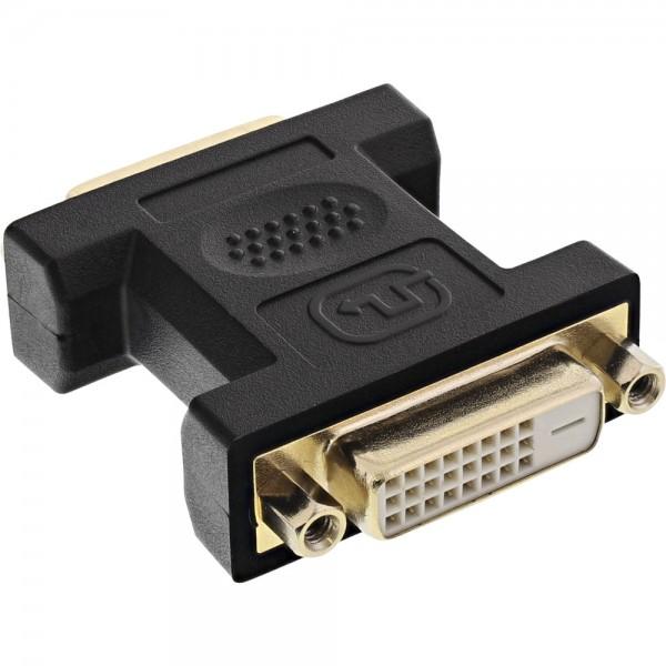 InLine® DVI-D Adapter, Digital 24+1 Buchse / Buchse (Kupplung)
