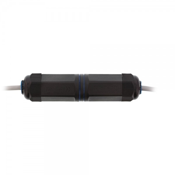 InLine® Patchkabelkupplung Cat.6, wasserdicht IP67, 2x RJ45 Buchse, geschirmt