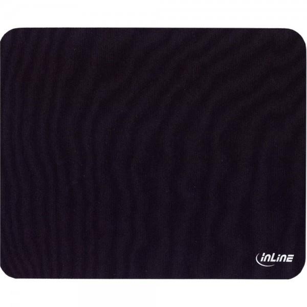 InLine® Maus-Pad Recycled, schwarz, 230x190x2,5mm