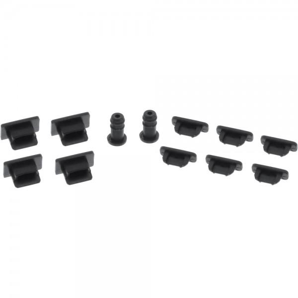 InLine® Staubschutz-Set, für Smartphone / Handy, 12-teilig