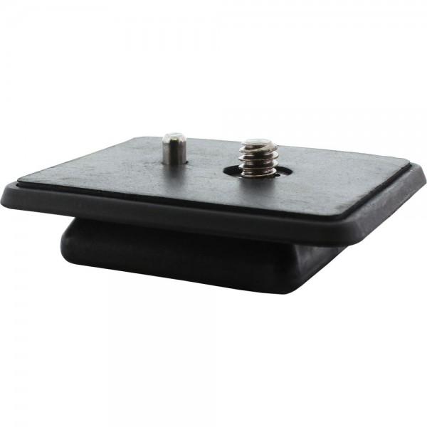 InLine® Stativ-Zubehör, Kamera Schnellwechselplatte, rechteckige Form